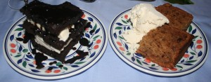Dessert by No 2 for the same dinner