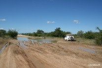 Our friends heading into a tricky situation in Namibia in 2011
