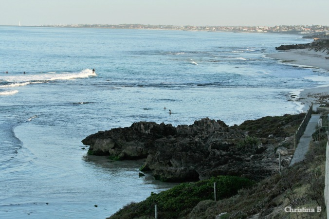 Our local coastline with view towards Hillarys Boat Harbour