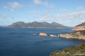 The Hazards, Freycinet National Park, Tasmania (two of these peaks are traversed in one of the 3 runs in the race)