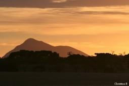 Sunset at Mount Trio Bush Camp