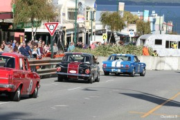The vintage car races in Albany
