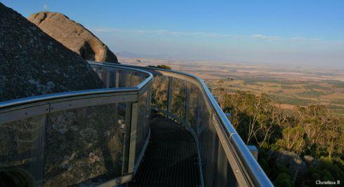 Beneath My Feet: A Skywalk, Granite Outcrop and West Australian Farmland