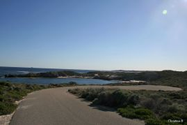 Beautiful and peaceful cycling roads (Mabel Cove and Marjorie Bay, Rottnest Island)