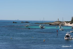 View over Longreach Bay towards Perth