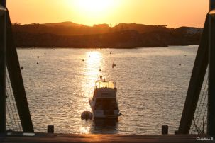 Sunset at Geordie Bay