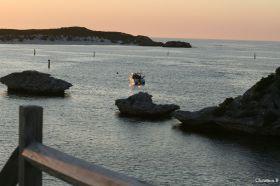 Sunset at Geordie Bay, Rottnest Island