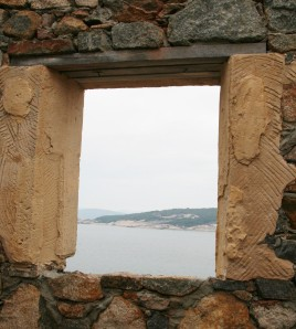 View from inside the Lighthouse Keeper's House, Point King, Albany, Western Australia