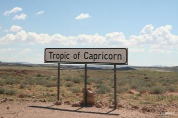 Tropic of Capricorn, Namibia