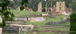 Port Arthur, Tasmania, Australia. First penal colony. Lots of boundaries that ruled access and movement of prisoners.