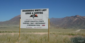 Brandberg White Lady Lodge and bush camp, Namibia. Home of desert elephants and age old rock paintings.
