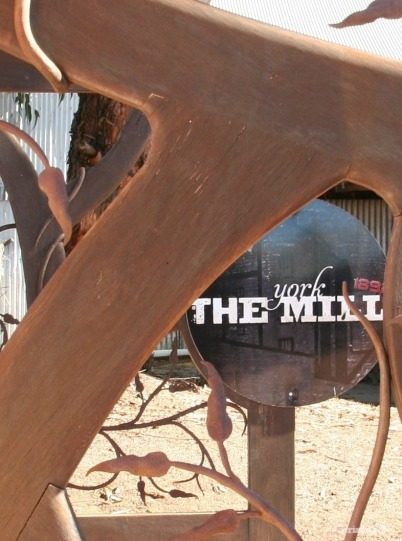 The old York flour mill (in the wheatbelt east of Perth).