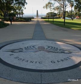 Kings Park & Botanic Garden overlooking the Swan river, Perth, Australia.