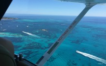 One of the last photos taken from the air. My camera was playing up at this stage and the trusty iphone did the trick.
