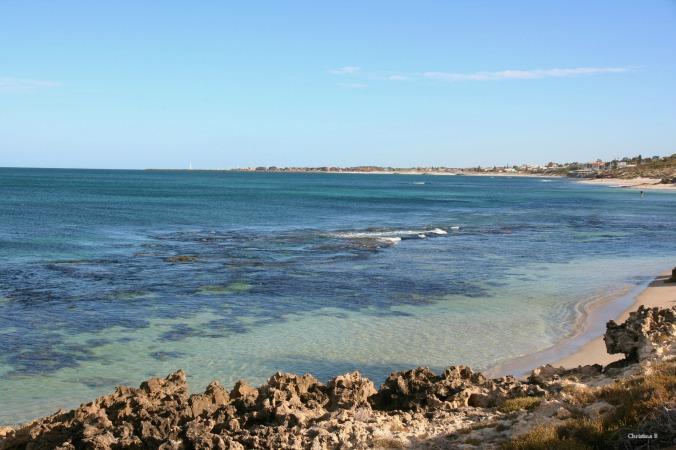 View towards Hillarys Marina from Watermans Bay picnic area