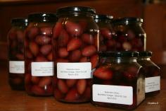 Home bottled kalamata olives