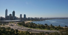 View of Perth in 2007, taken from Kings Park