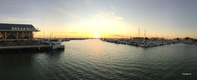 Hillarys Boat Harbour panorama