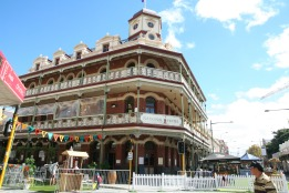 National Hotel in Fremantle during the recent Street Arts Festival