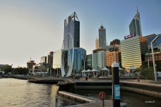 Perth, taken from the newly finished Elizabeth Quay
