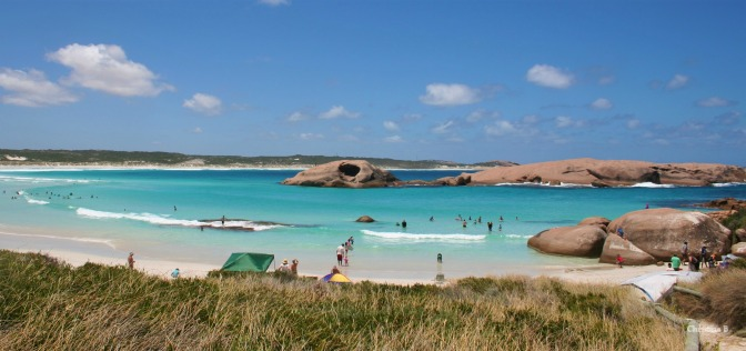Twilight beach in Esperance, WA