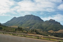 Simonsberg taken from the Helshoogte Pass