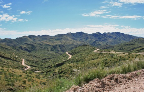 Gamsberg Pass in Namibia