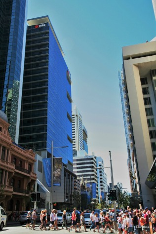 St George's Terrace, Perth city