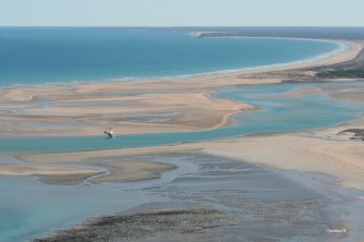 Helicopter ride north of Broome