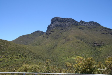 Bluff Knoll, Stirling Ranges which we've hiked a few times (start of the path can be seen to the left at the bottom of the photo)